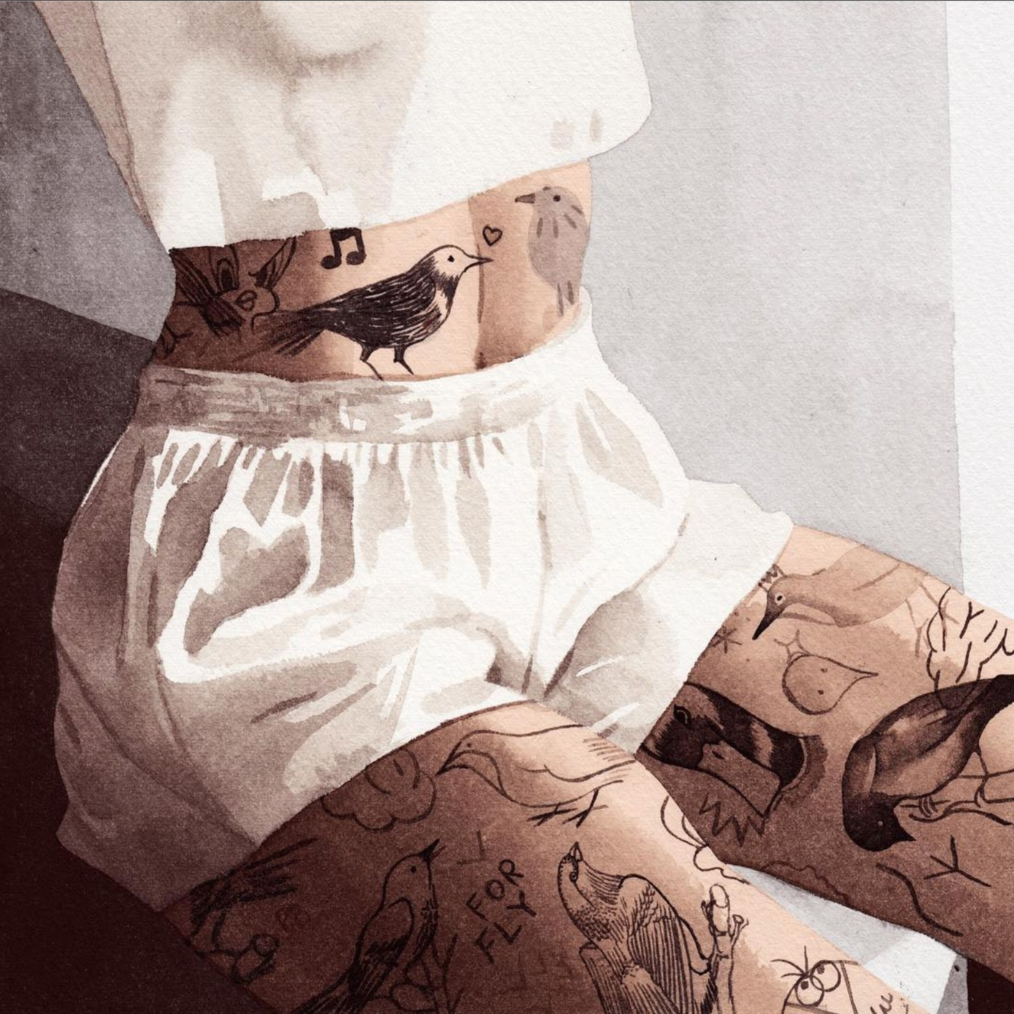 I corpi tatuati NSFW Jean Andre | Collater.al 2