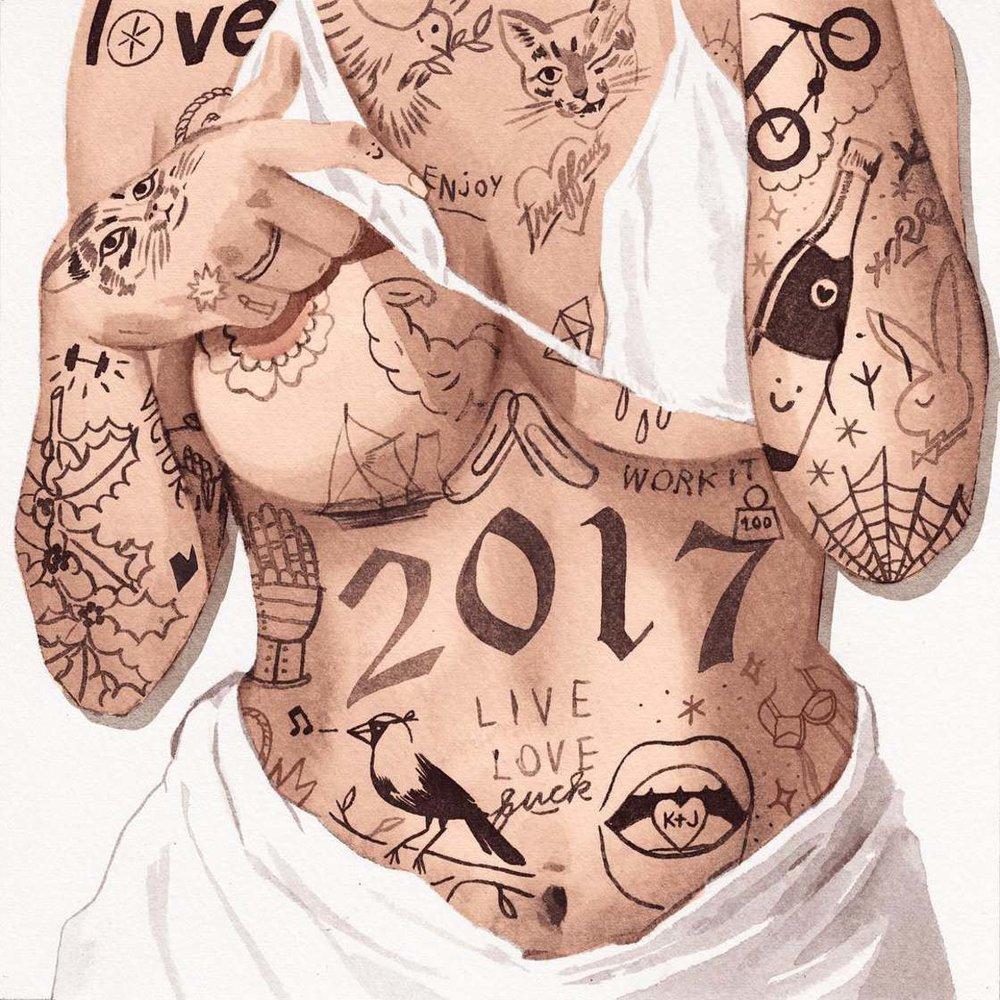 I corpi tatuati NSFW Jean Andre | Collater.al 7