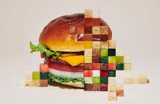 Yuni Yoshida's pixelated food