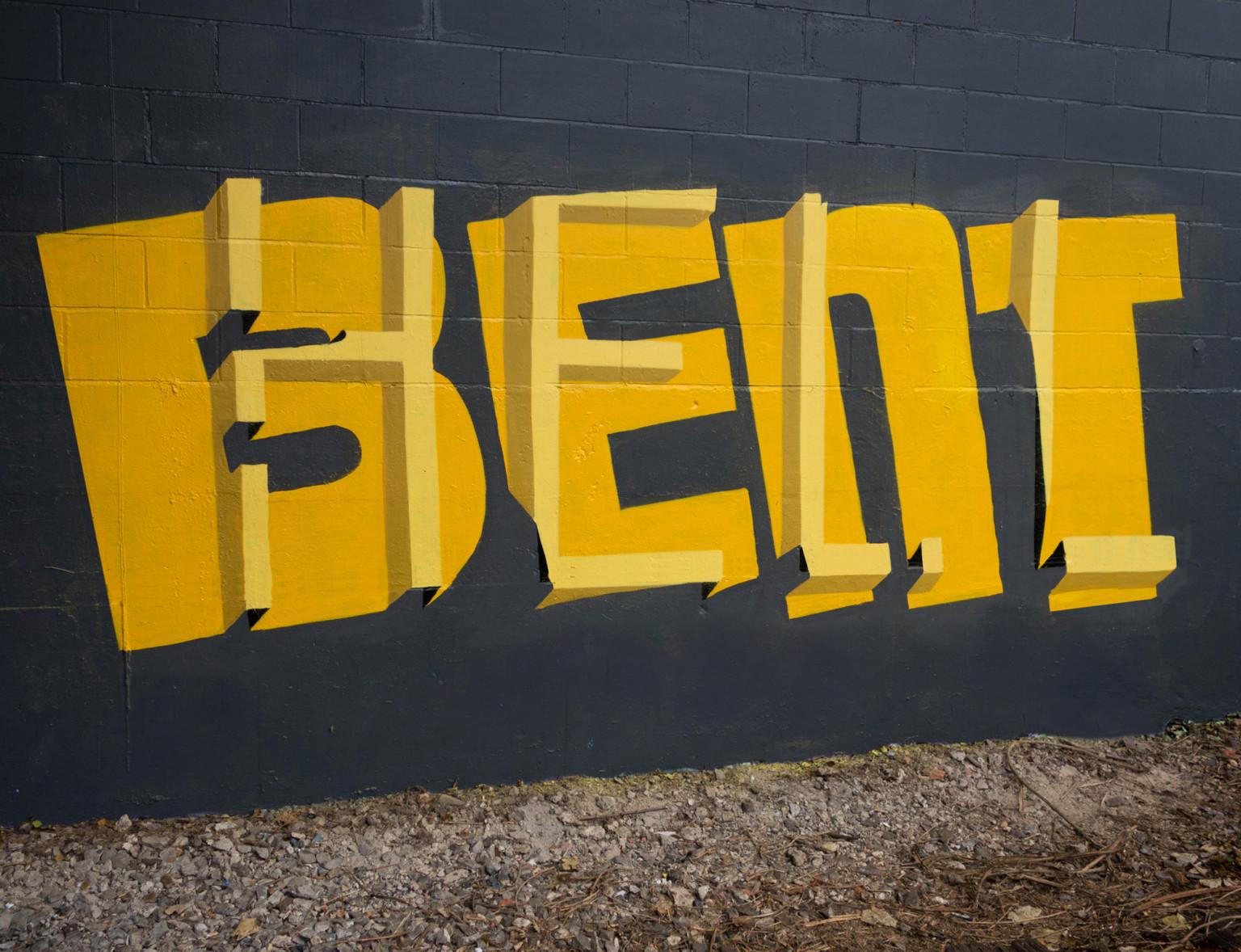 Il lettering 3D dello street artist Pref | Collater.al 1