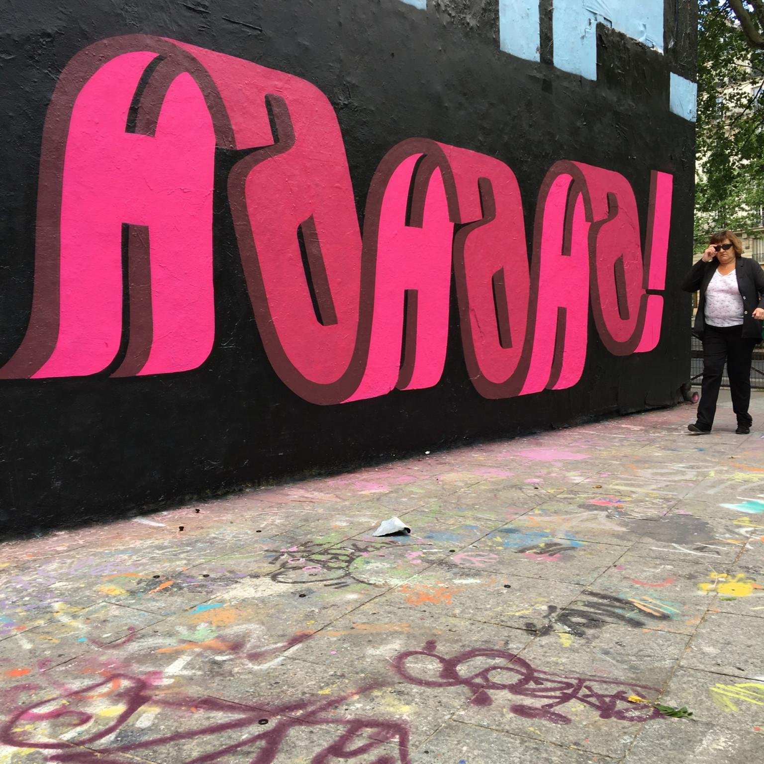 Il lettering 3D dello street artist Pref | Collater.al 3