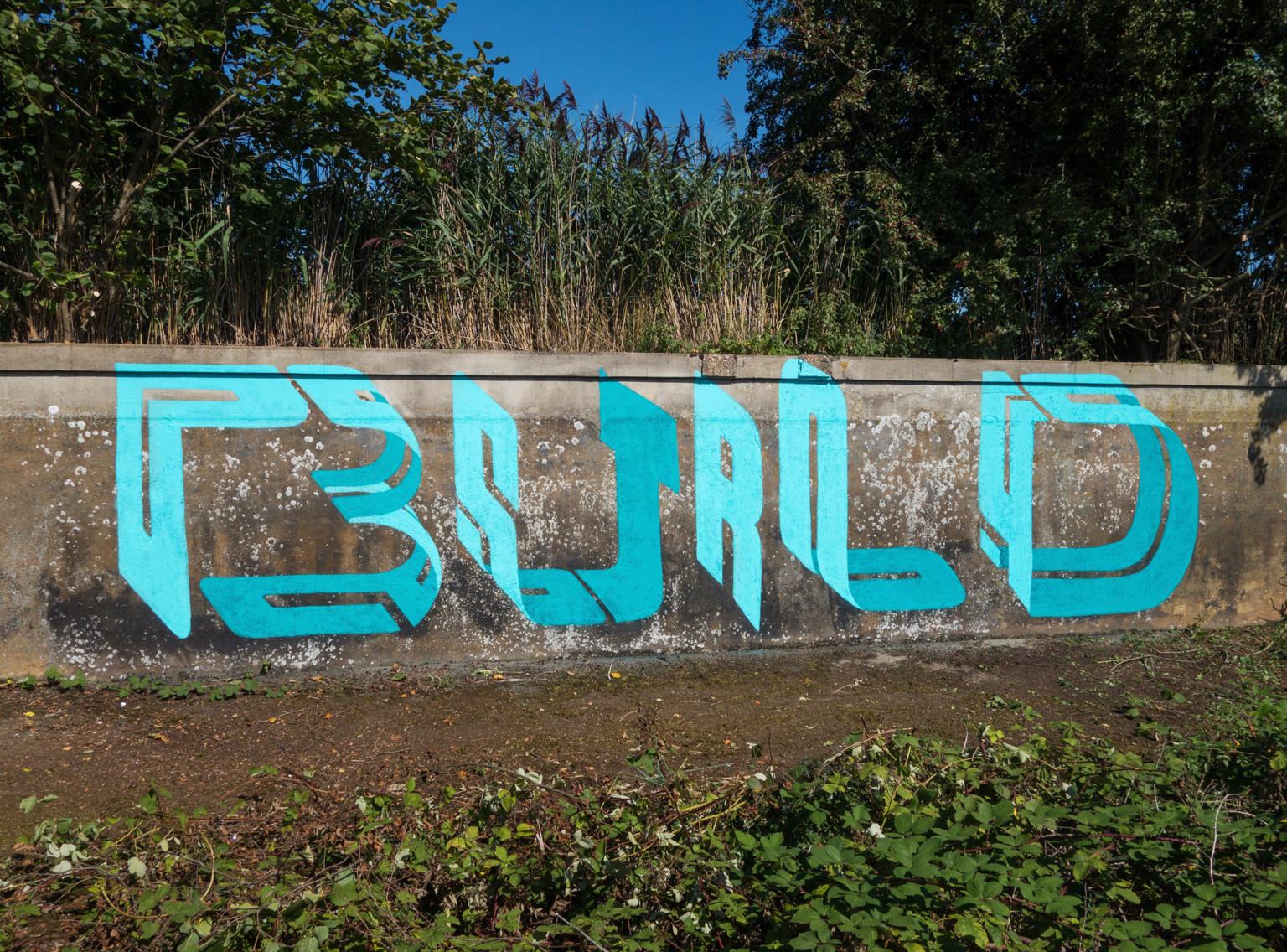Il lettering 3D dello street artist Pref | Collater.al 4