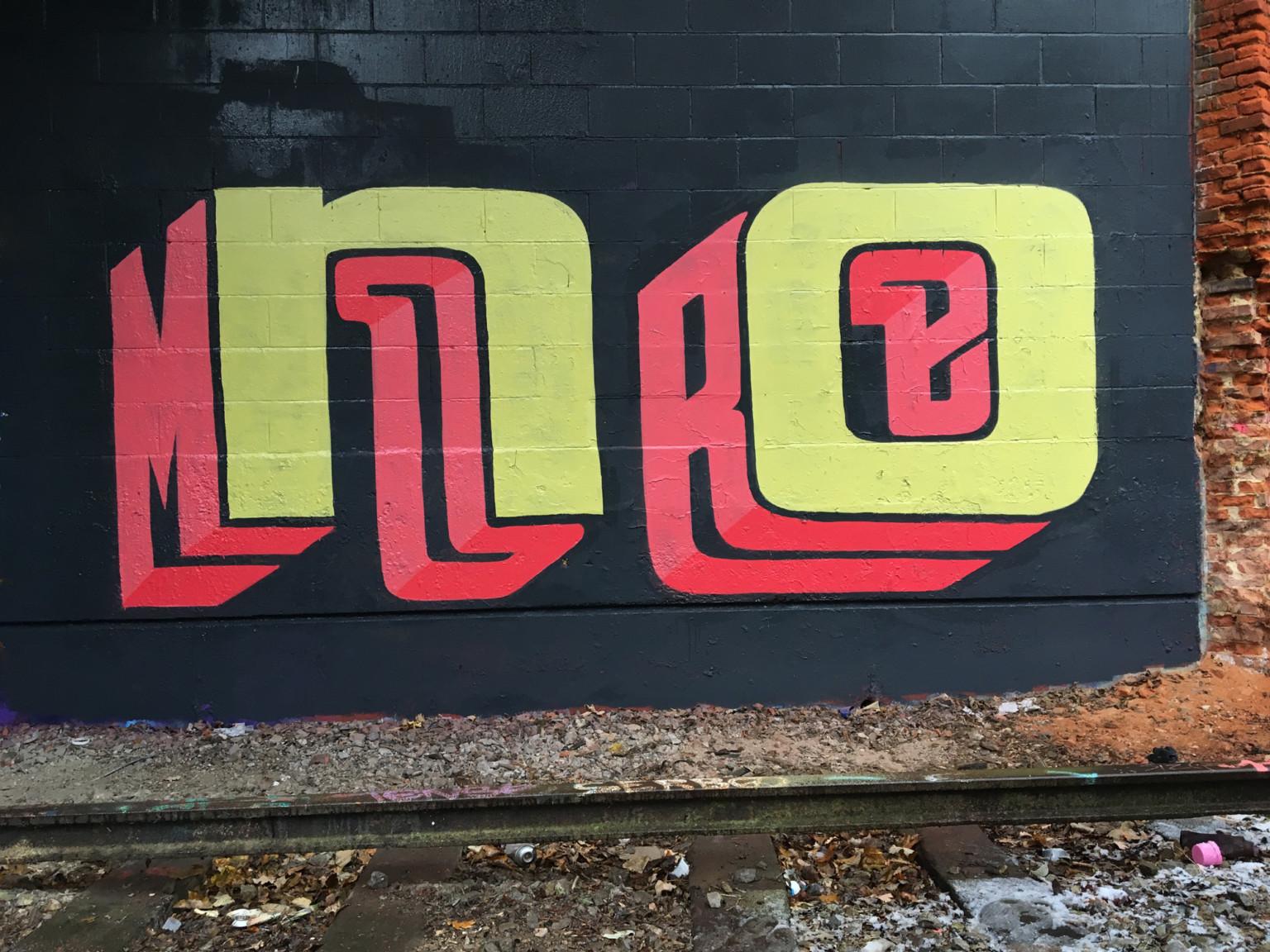 Il lettering 3D dello street artist Pref | Collater.al 6