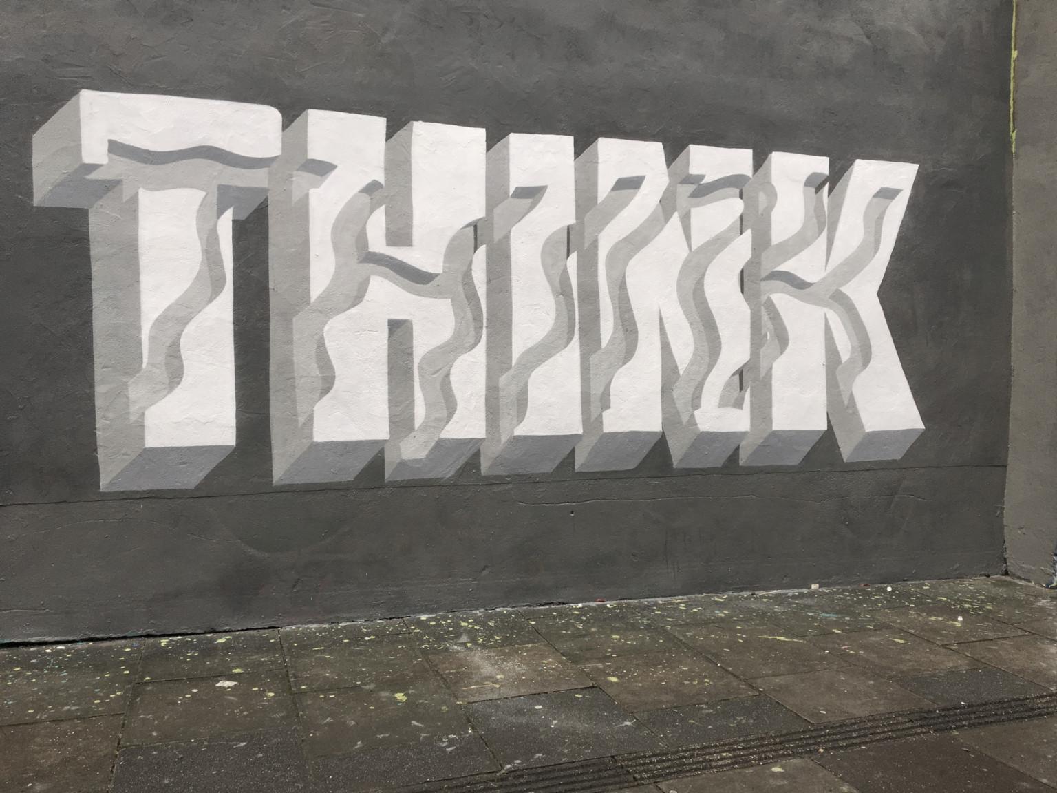 Il lettering 3D dello street artist Pref | Collater.al 8