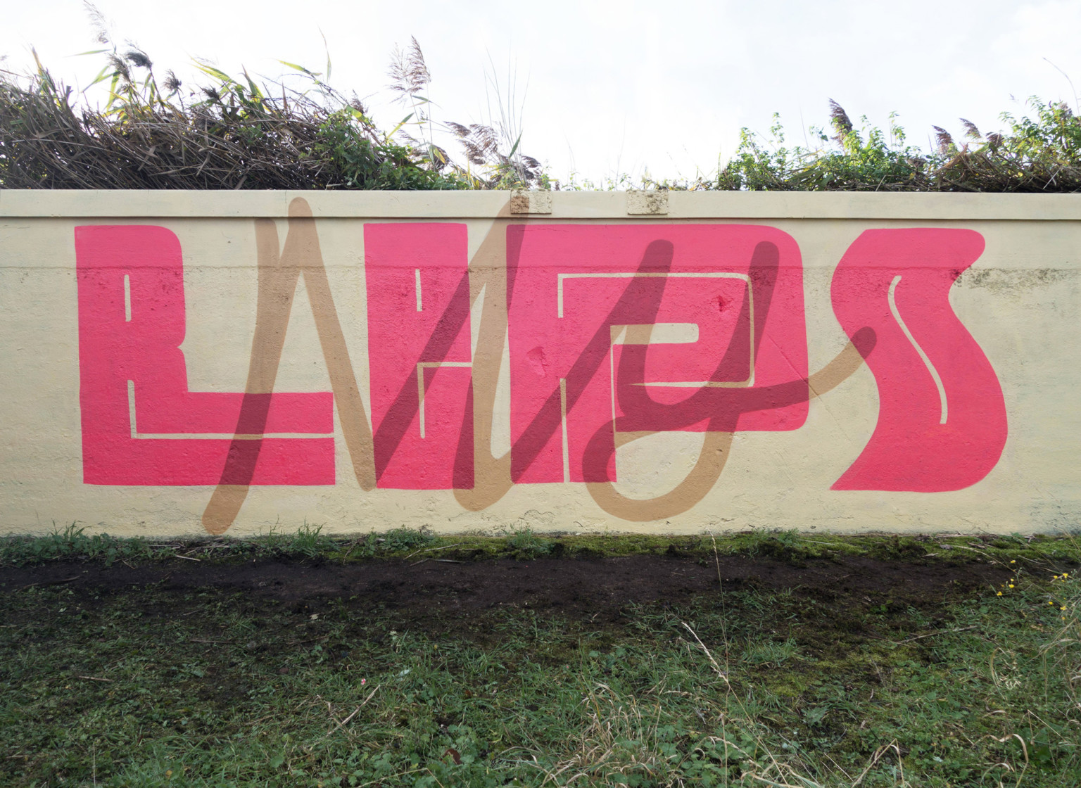 Il lettering 3D dello street artist Pref | Collater.al 9
