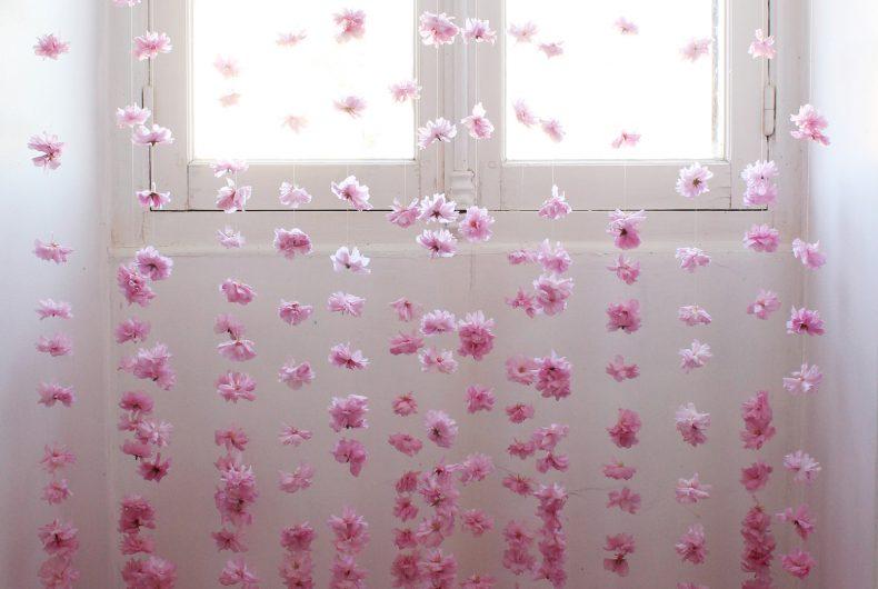 Le installazioni floreali di Jenine Shereos