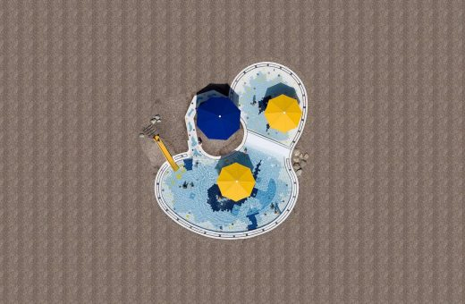 Pools from above by Stephan Zirwes