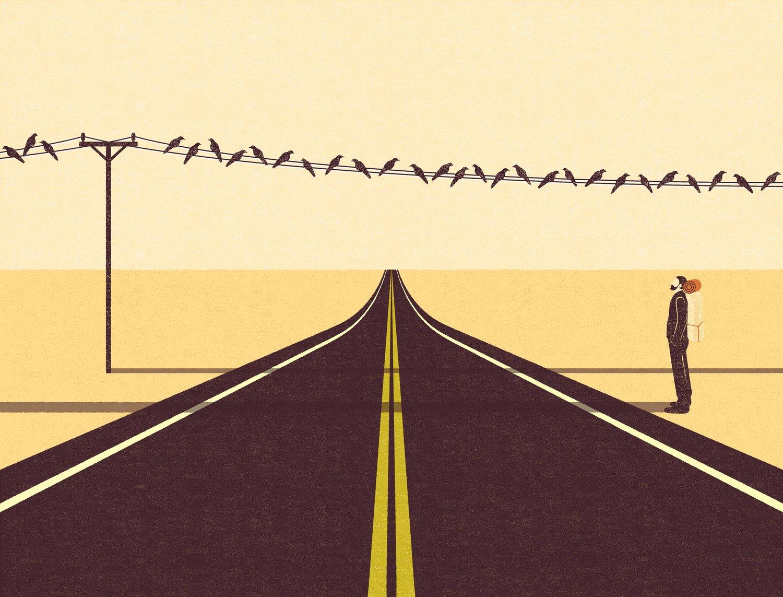 Le storie semplici illustrate da Andrius Banelis | Collater.al 25
