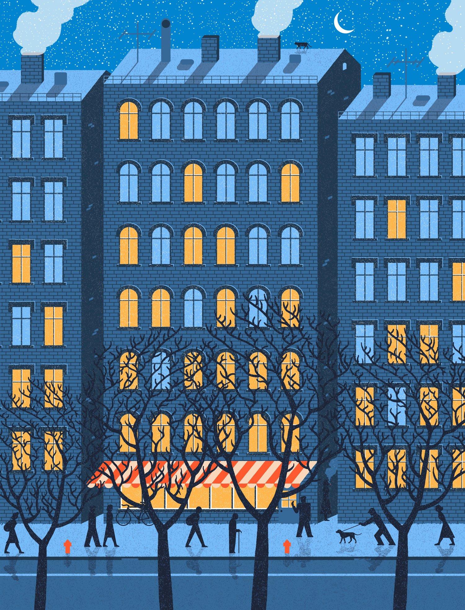 Le storie semplici illustrate da Andrius Banelis | Collater.al 8