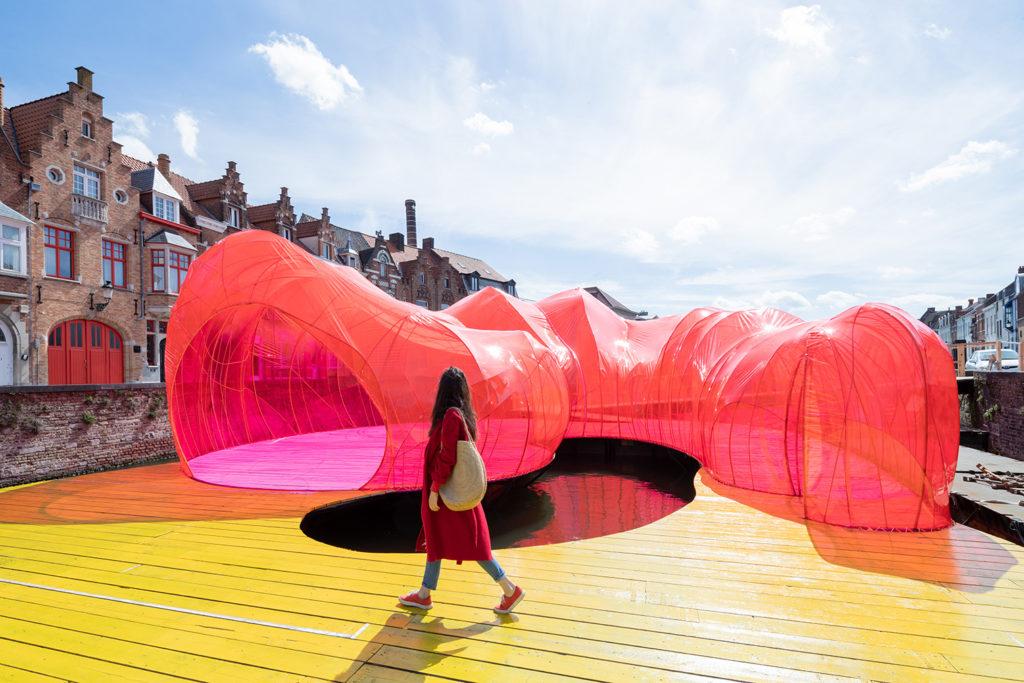 Il padiglione dei Selgascano per la Triennale a Bruges | Collater.al