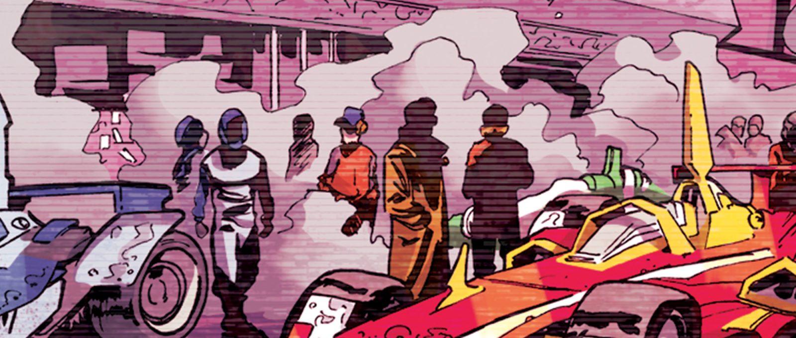 We race comic, il primo webcomic firmato Scuderia Ferrari