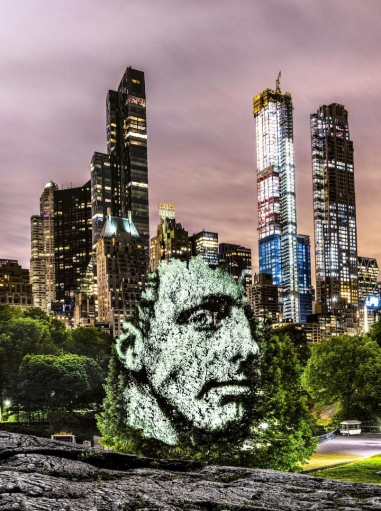 A World First in New York, Philippe Echaroux invade Central Park | Collater.al