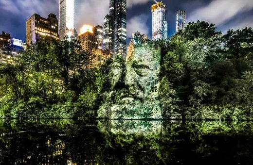 A World First in New York,  Philippe Echaroux invade Central Park