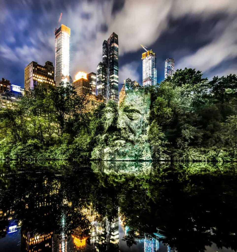 A World First in New York, Philippe Echaroux invade Central Park6 | Collater.al