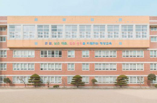 Andres Gallardo come Wes Anderson: le scuole in Corea