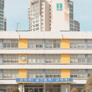 Andres Gallardo come Wes Anderson- le scuole in Corea9 | Collater.al