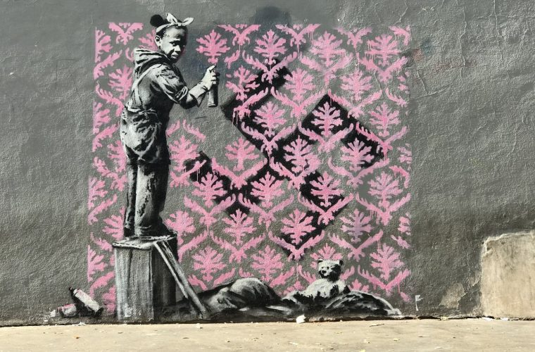 Banksy lands in Paris with six new political murals
