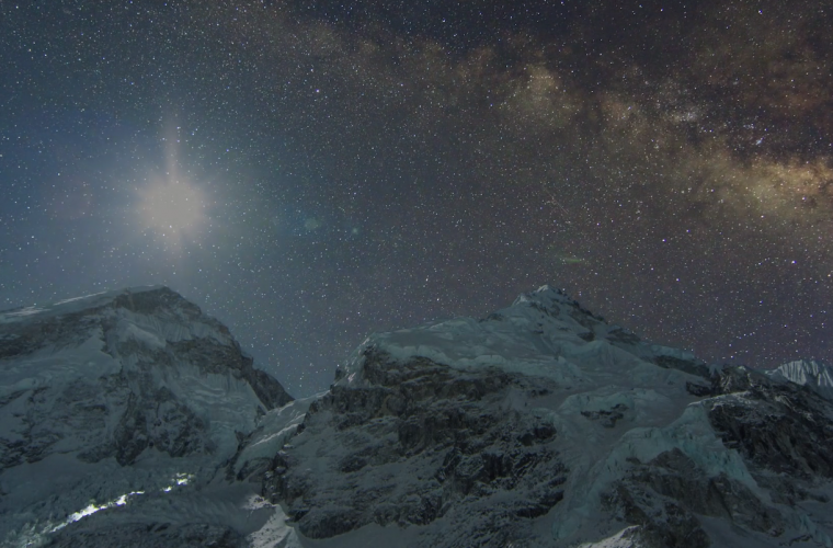 Short video for Breakfast – Everest, il time-lapse più suggestivo di sempre