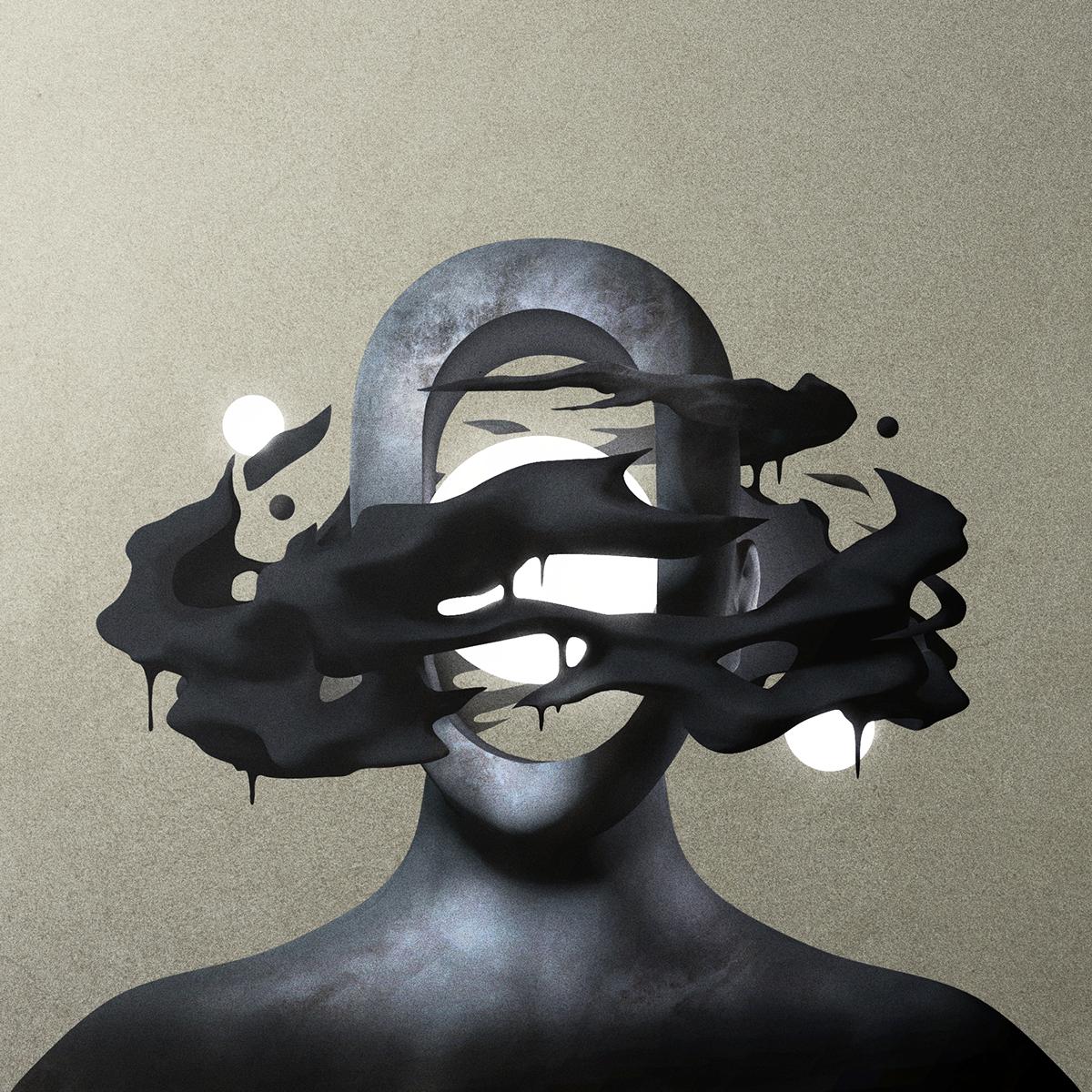 Gabriel Levesque aka Oska racconta la mente nelle sue illustrazioni   Collater.al 1