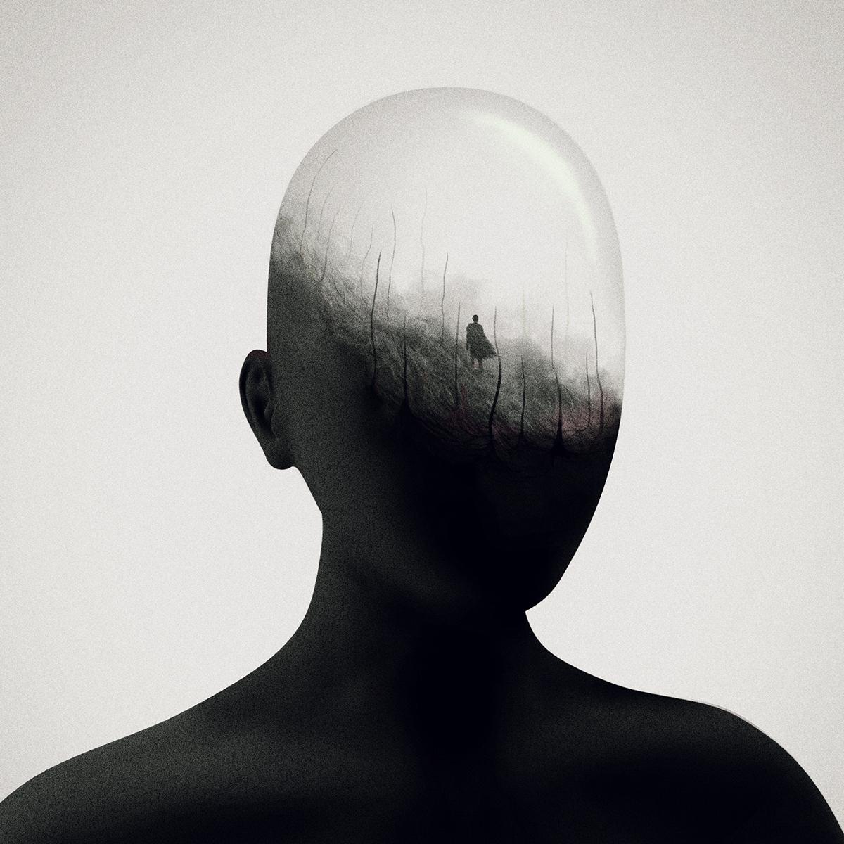 Gabriel Levesque aka Oska racconta la mente nelle sue illustrazioni | Collater.al 2
