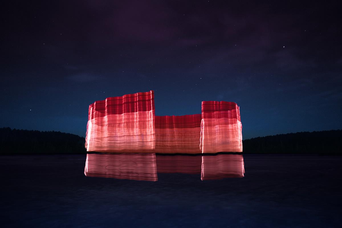 Gone Fishing, le sculture di luce di Andrius Labasauskas | Collater.al 1
