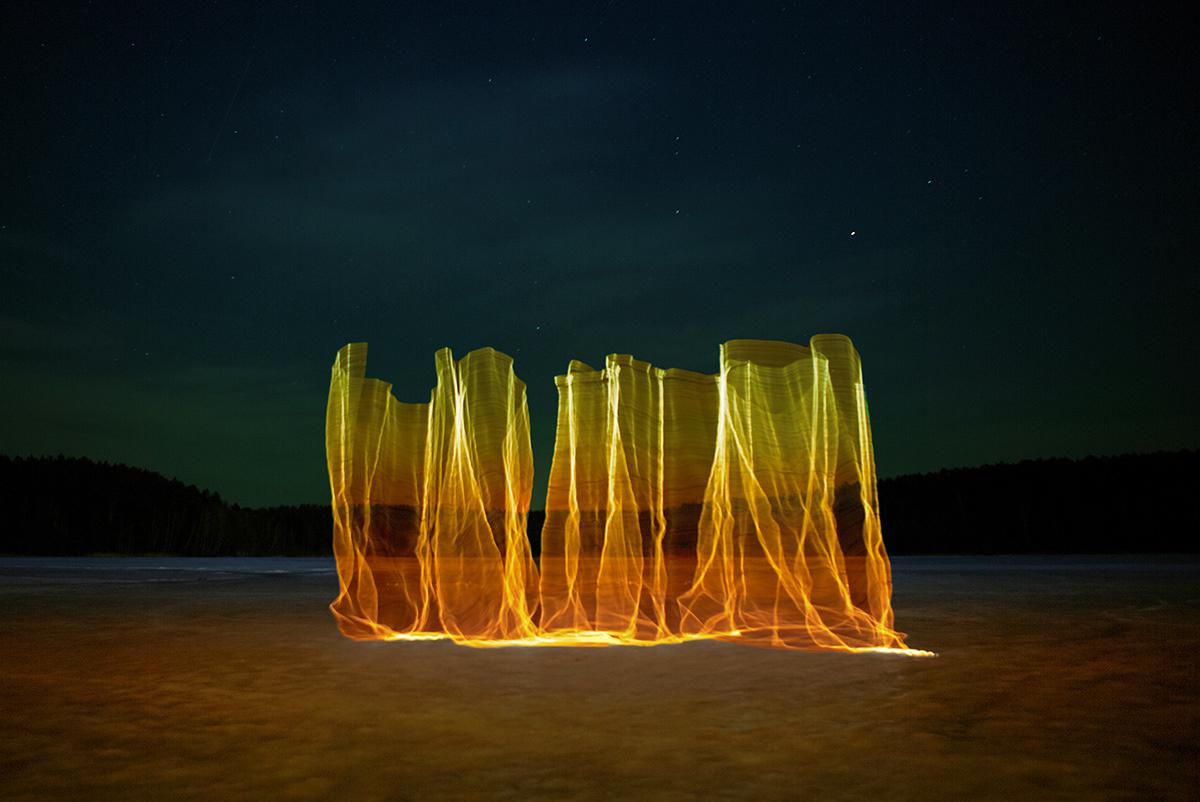 Gone Fishing, le sculture di luce di Andrius Labasauskas | Collater.al 5