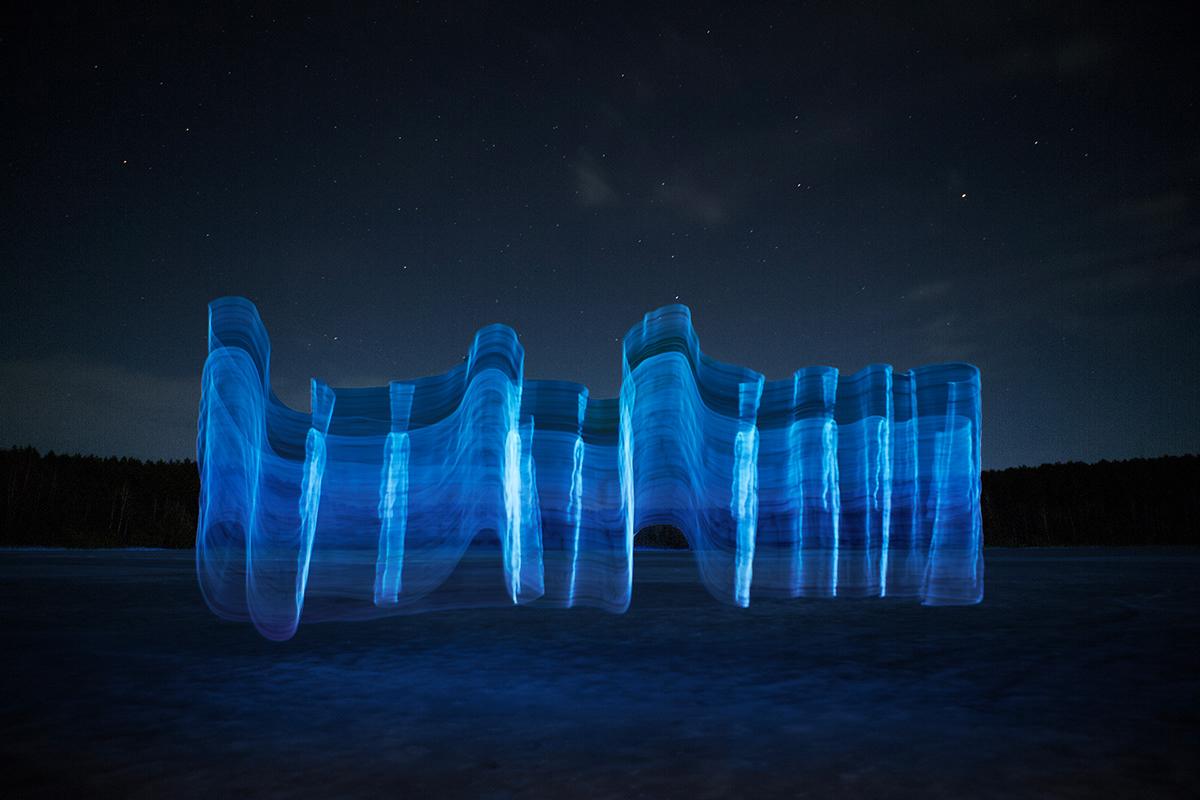 Gone Fishing, le sculture di luce di Andrius Labasauskas | Collater.al 8