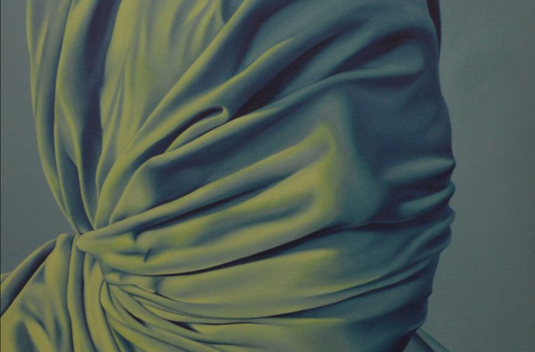 I volti nascosti nei dipinti di Alayna Coverly