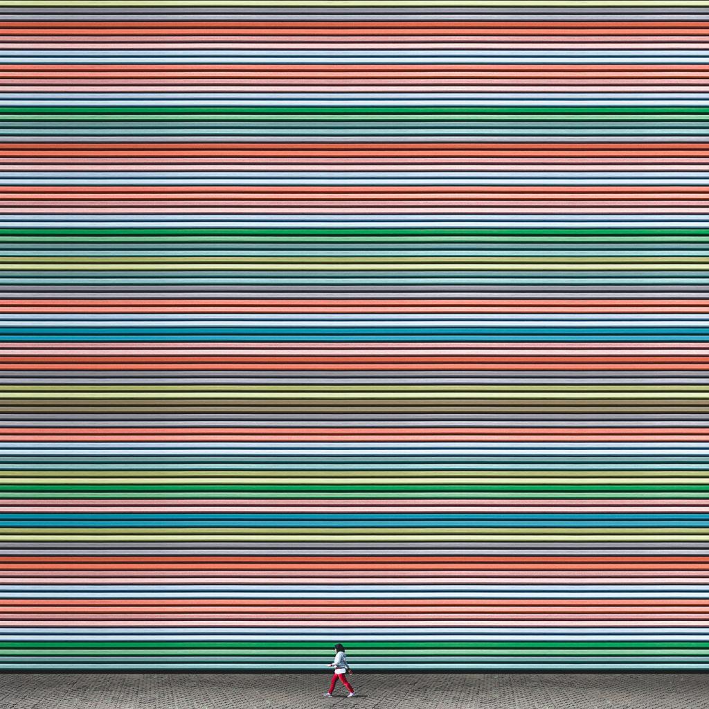 Il minimalismo colorato di Andhika Ramadhian   Collater.al