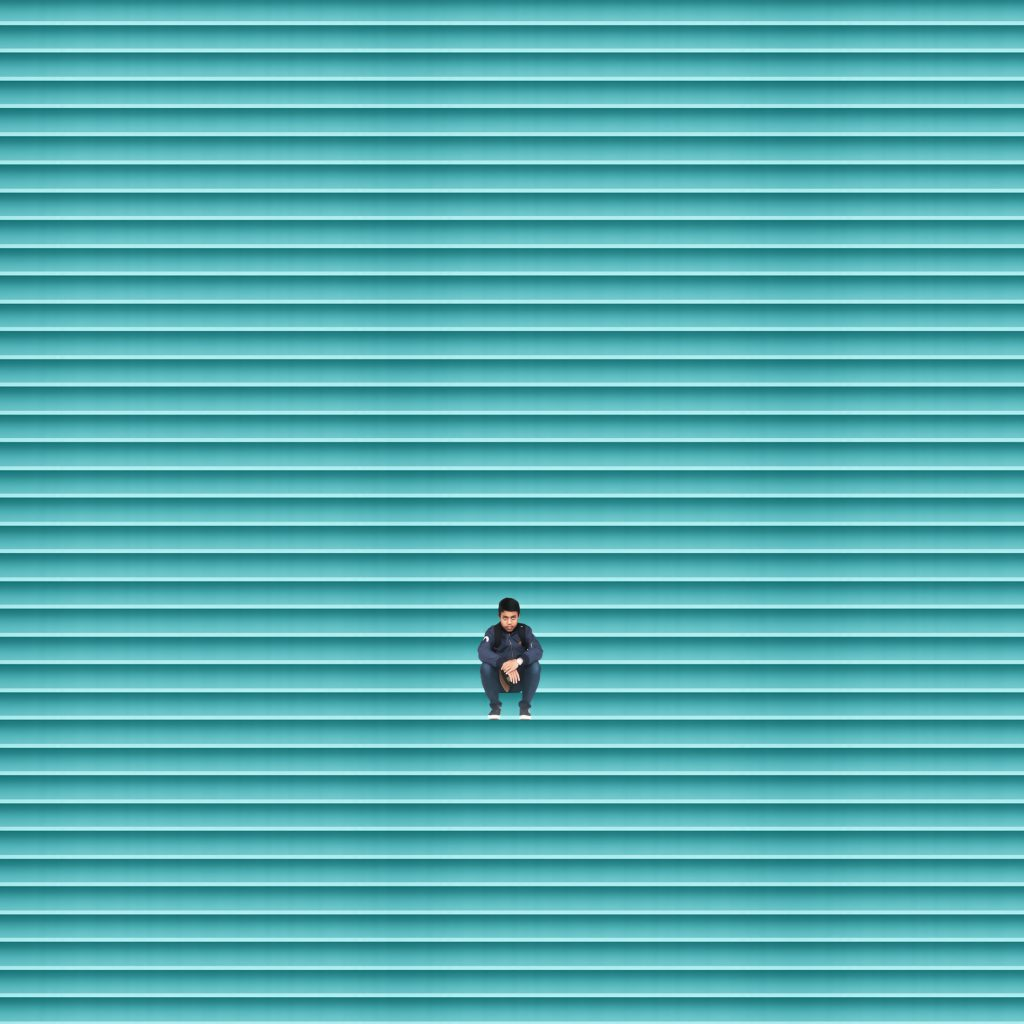 Il minimalismo colorato di Andhika Ramadhian | Collater.al