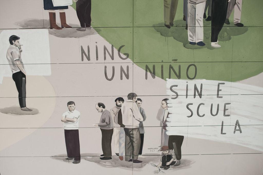 La Plaza es Nuestra, il nuovo murale di Escif | Collater.al