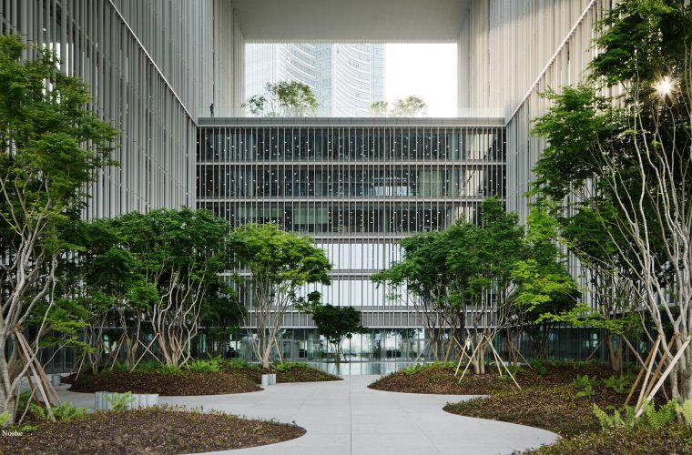 Amorepacific's headquarters by David Chipperfield Studio