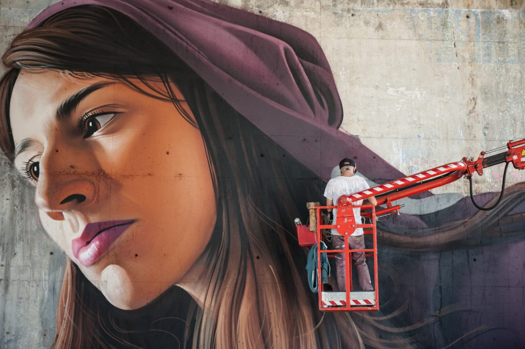 La street art iperrealista dell'artista croato Lonac9| Collater.al