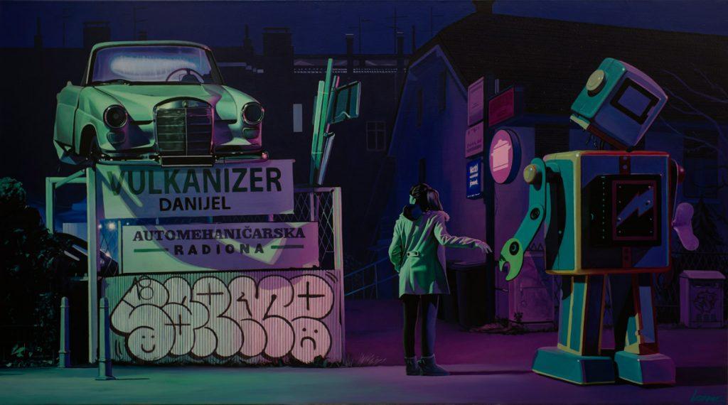 La street art iperrealista dell'artista croato Lonac9 | Collater.al