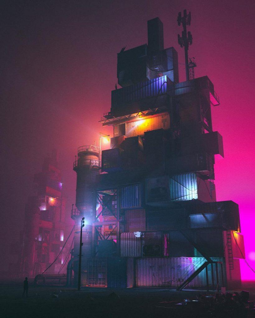 Le grafiche futuriste e distopiche di Beeple Crap7 | Collater.al