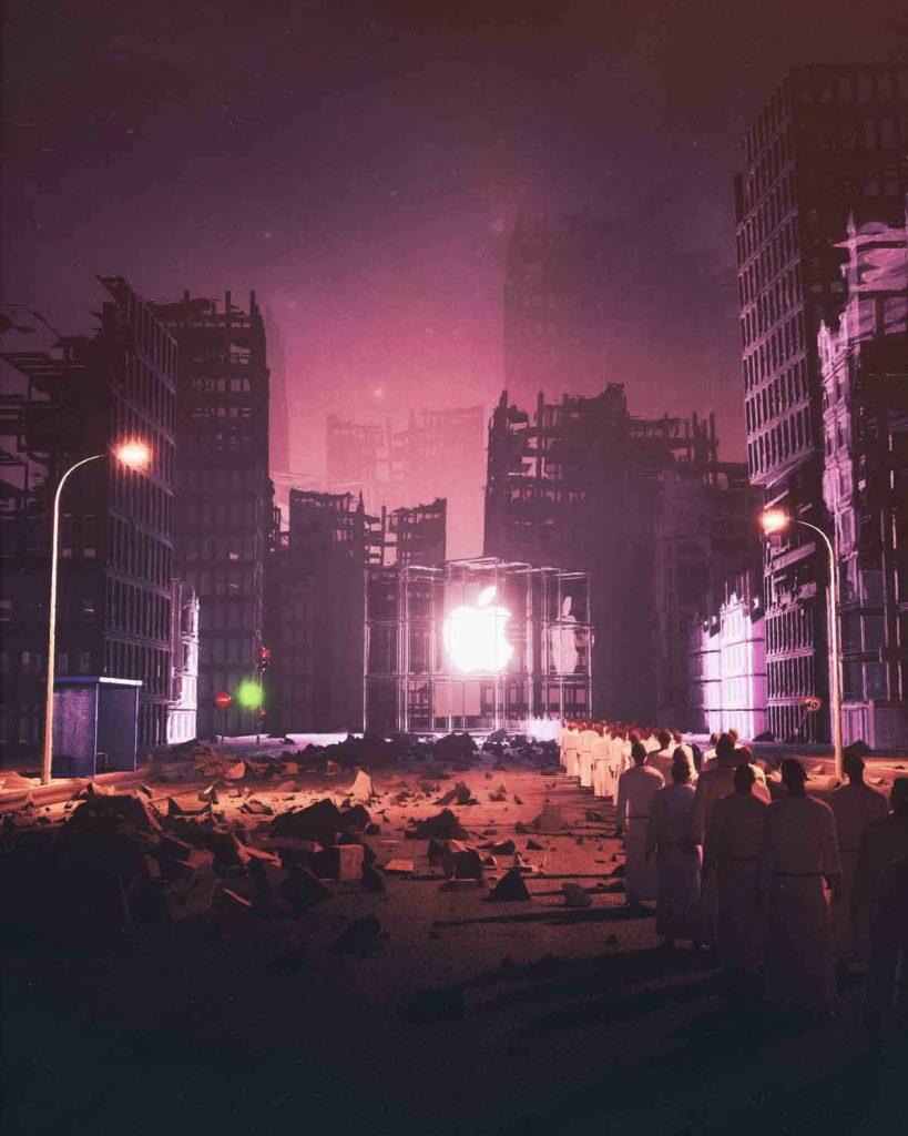 Le grafiche futuriste e distopiche di Beeple Crap8 | Collater.al