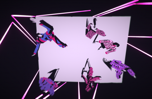 Emiliano Ponzi's VR illustration for Pirelli