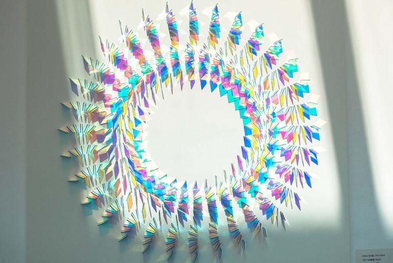 Le installazioni fotosensibili di Chris Wood