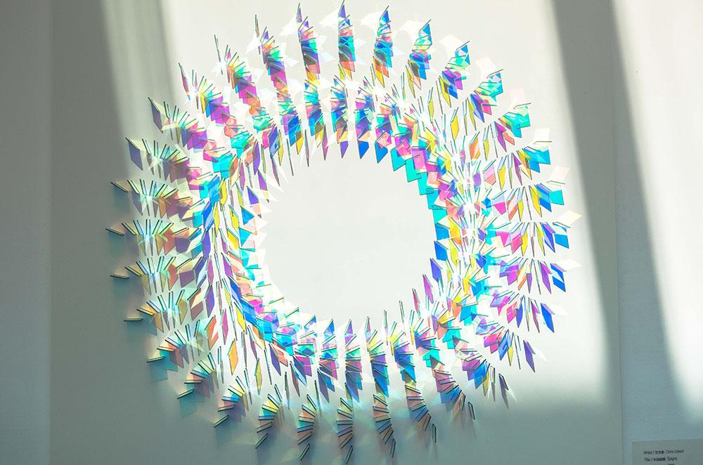 Le installazioni fotosensibili di Chris Wood11 | Collater.al