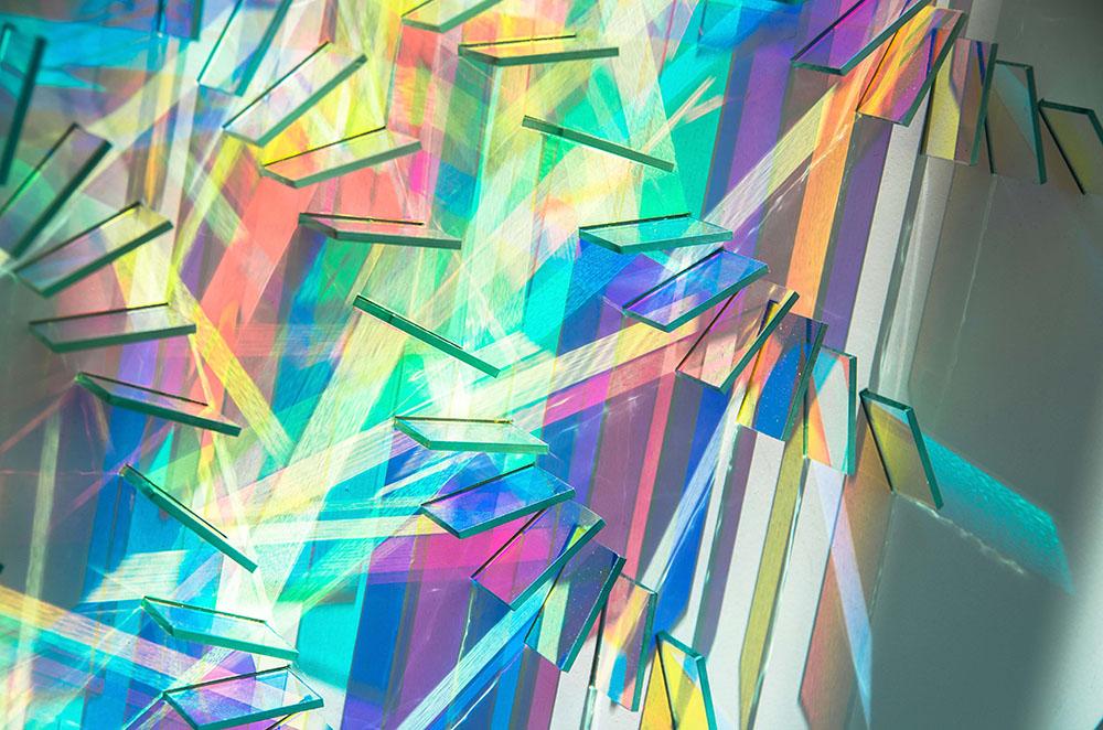 Le installazioni fotosensibili di Chris Wood18 | Collater.al