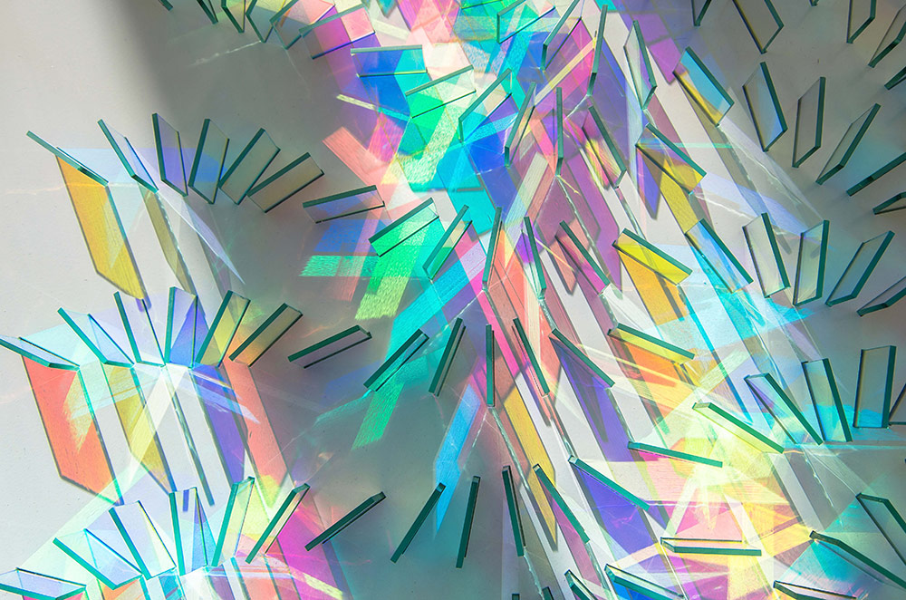 Le installazioni fotosensibili di Chris Wood19 | Collater.al