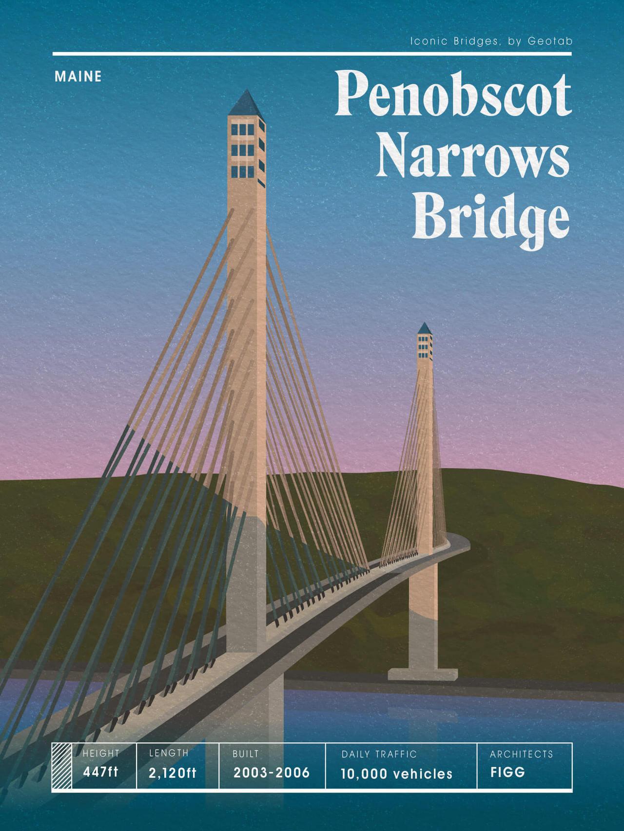 Leonie Wharton illustra ponti americani | Collater.al 1
