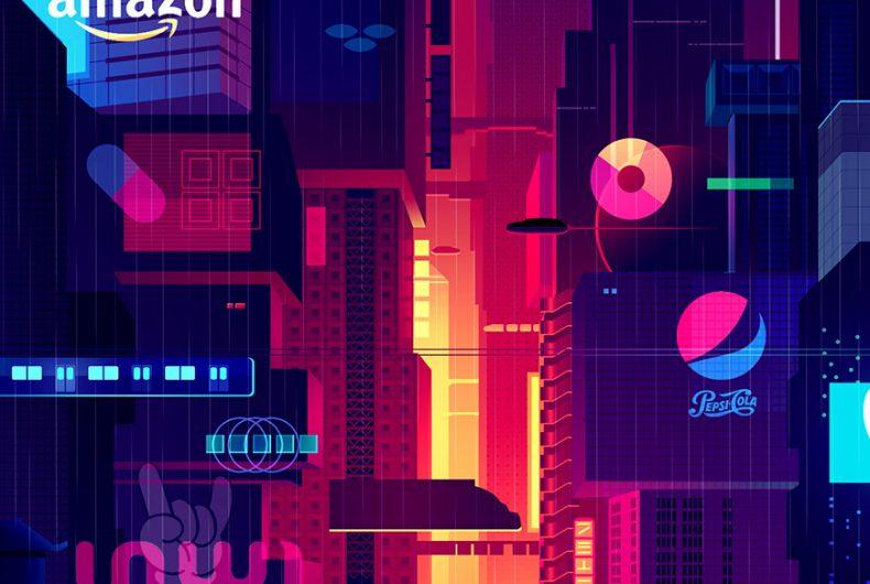 Mirages, la città del futuro secondo l'illustratore Romain Trystram