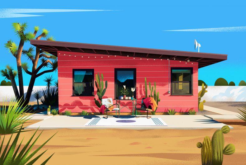Muhammed Sajid illustra le case di tutto il mondo