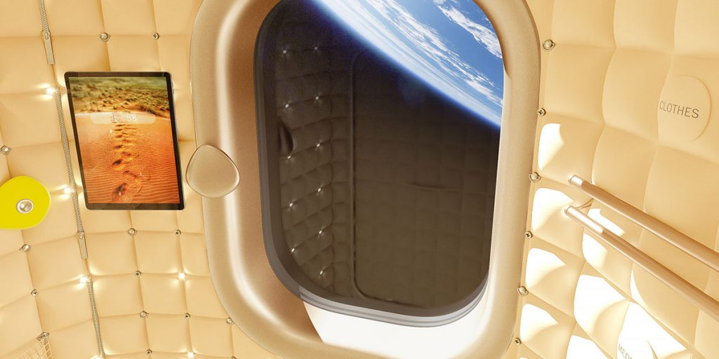 Philippe Stark, designer del turismo spaziale per Axiom Space2| Collater.al