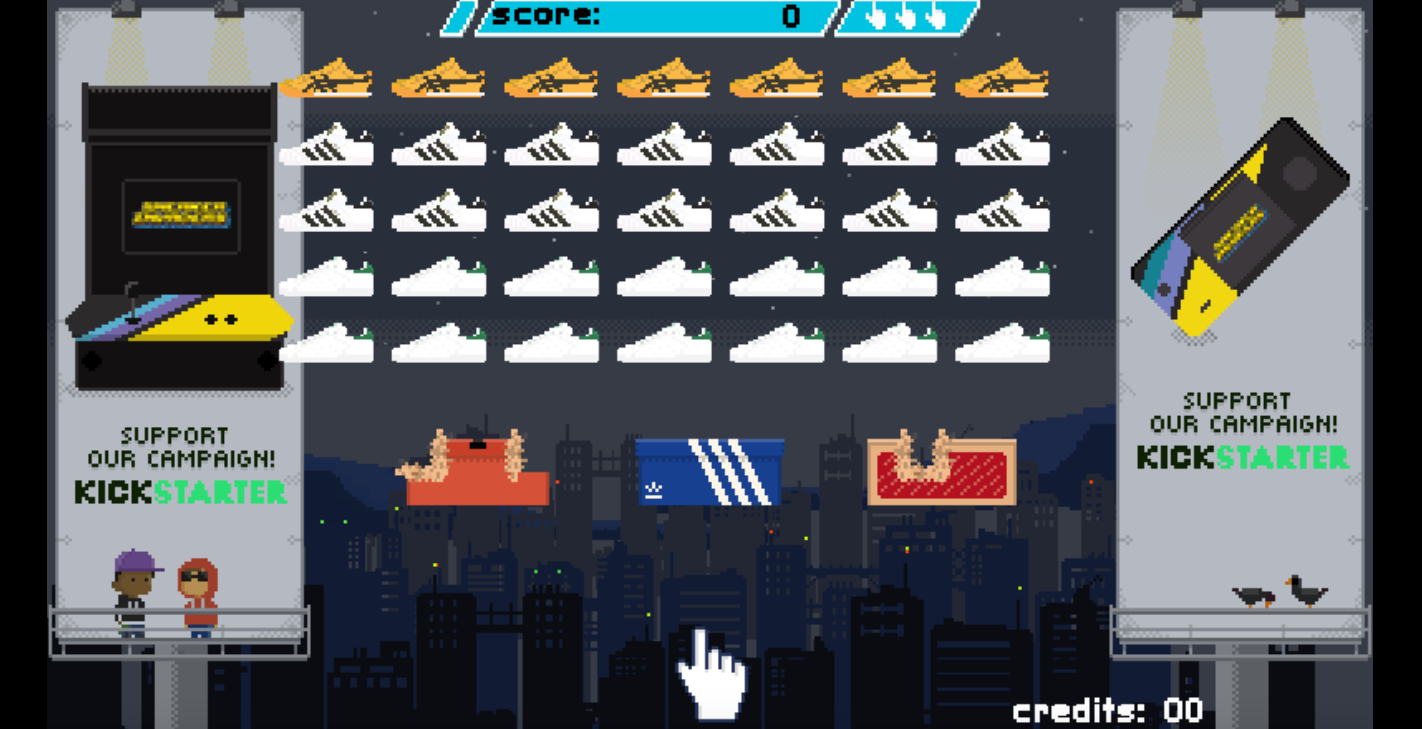 Sneaker Invaders, the perfect game for hypebeast | Collater.al