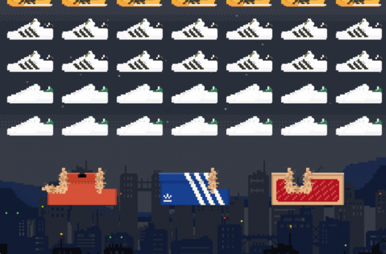 Sneaker Invaders, the perfect game for hypebeast