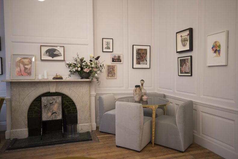 The AllBright women's Club in Bloomsbury