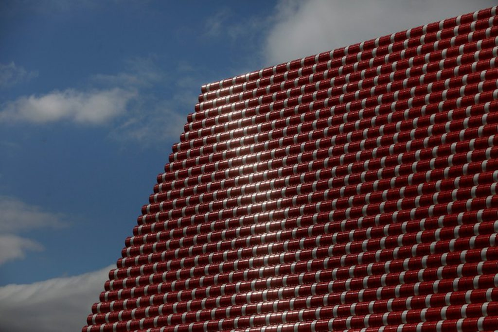 The London Mastaba la nuova opera di Christo a Londra | Collater.al
