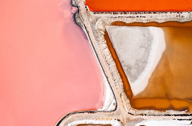 The Salt Series, le saline viste dall'alto di Tom Hegen